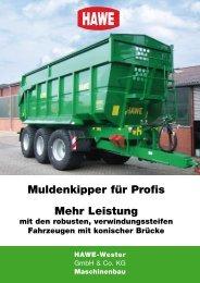 Das Prospekt über den MK (PDF-Download) - HAWE Wester