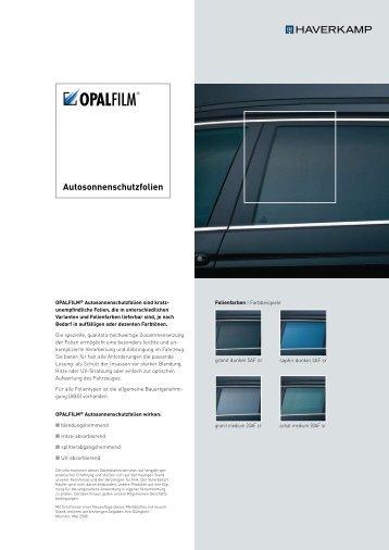 Autosonnenschutzfolien - HAVERKAMP GmbH