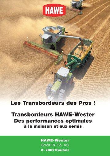 Transbordeurs HAWE-Wester Les Transbordeurs des Pros !