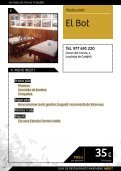 podràs accedir al llibret amb tota la informació ... - Turisme Calafell - Page 6