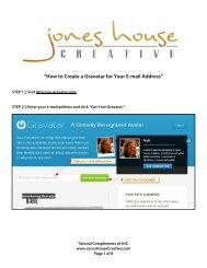 """How to Create a Gravatar for Your E-mail Address"" - Jones House ..."
