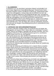 AGB für Alu / Stahl / Zink - abbeiz.de