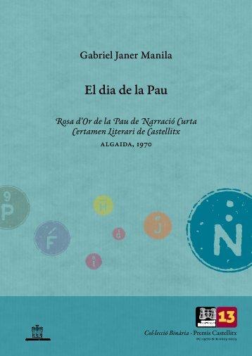 Premis Castellitx / Narrativa curta El dia de la Pau Rosa d'Or ... - Zheta