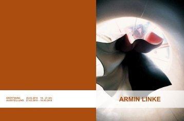ARMIN LINKE (pdf) - Heidelberger Kunstverein