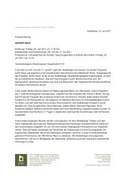 Download Pressemitteilung zur Ausstellung (pdf) - Heidelberger ...