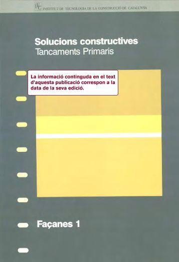La informació continguda en el text d'aquesta publicació ... - ITeC