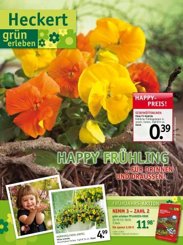haPPy FrühlinG - Heckert Gartencenter