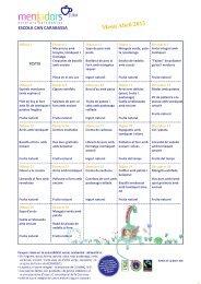 també podeu consultar el menú del mes actual - AMPA Escola ...