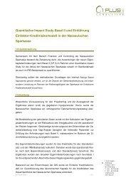 Quantitative Impact Study Basel II und Einführung ... - 1 PLUS i GmbH