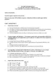EXAMEN DE BIOLOGIA I 1 CURS DE CIÈNCIES ... - ETC