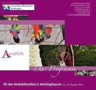 Das Programm - Heideblütenfest