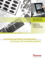 Prospekt Röntgen-Inspektionsgerät Xpert - PDF runterladen