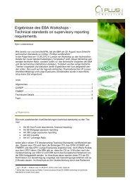EBA Workshop (pdf ca. 345 KB) - 1 PLUS i GmbH