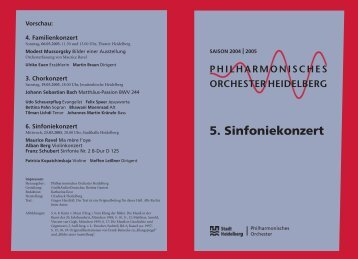 PDF zum download - Philharmonisches Orchester Heidelberg