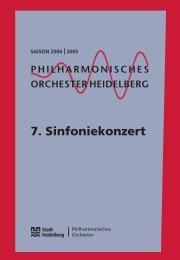 PDF zum download - Philharmonisches Orchester Heidelberg