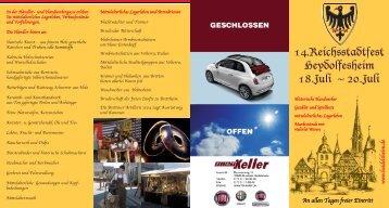 An allen Tagen freier Eintritt w w w .heidelsheim .de www ...
