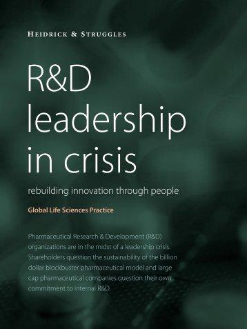 R&D leadership in crisis - Heidrick & Struggles