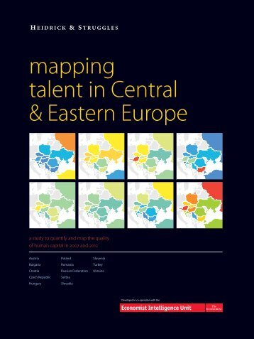 Mapping Talent in Central & Eastern Europe - Heidrick & Struggles