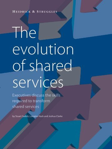 The Evolution of Shared Services - Heidrick & Struggles