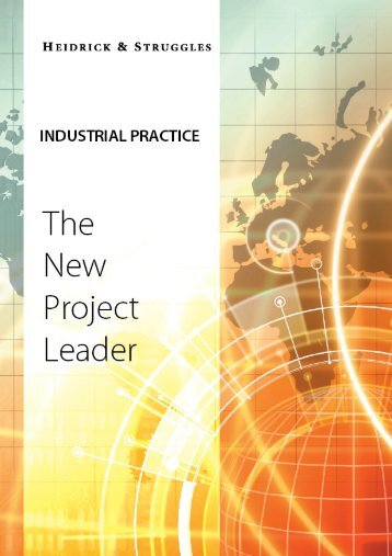 Industrial Sector - The New Project Leader - Heidrick & Struggles