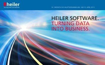Title in Black. - Heiler Software AG