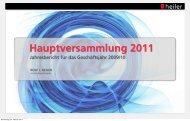 Präsentation Rolf Heiler