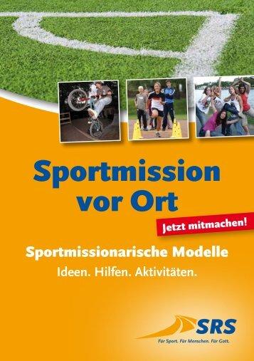 Sportmission vor Ort - Die Heilsarmee
