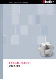 Annual Report 2007 / 2008 - Heiler Software AG