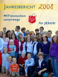 Jahresbericht 2008 (inkl. Spartenrechnung) - Die Heilsarmee