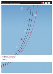 Annual Report 2008 / 2009 - Heiler Software AG