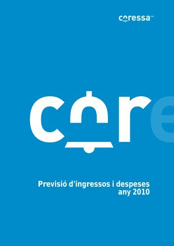Previsió d'ingressos i despeses any 2010 - Ajuntament de Sant Boi ...