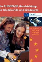 Der EUROPASS Berufsbildung für Studierende ... - Heimbüchel PR