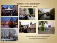 Heimatverein Warendorf - aktiv und engagiert in unserer Stadt