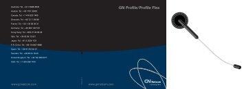 GN 3700 GN Profile/Profile Flex