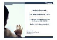Digitale Forensik: Live Response unter Linux - Heinlein