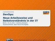 DevOps: Neue Arbeitsweise und Selbstverständnis in der IT - Heinlein