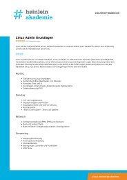 """""""Linux Admin Grundlagen"""" als PDF-Download - Heinlein"""