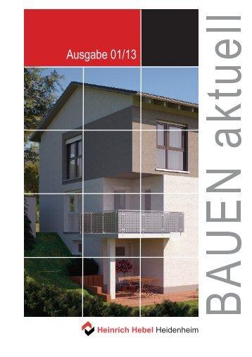 Bauen_aktuell_01_2013.pdf - Heinrich Hebel Heidenheim