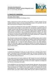 EL TRIANGLE DE LA MASSAGRAN Nedar a ... - BiBGirona
