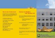 Flyer - Heinrich-Schütz-Schule