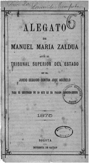 ® Biblioteca Nacional de Colombia