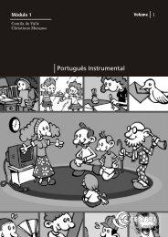 portugues instrumental - Universidade Federal do Pará