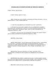 vocabulario de significaciones de derecho canónico a - d