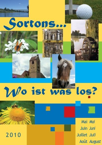 Sortons... - Pays Rhin Vignoble Grand Ballon