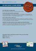 Die HeK zaHlt 75 euro Prämie - Page 2