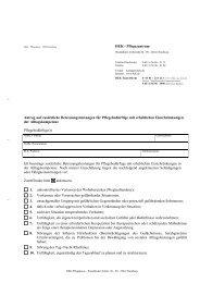 HEK - Pflegezentrum Antrag auf zusätzliche Betreuungsleistungen ...