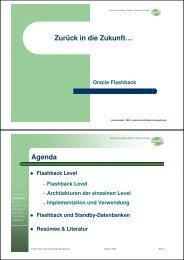 ORACLE Data Guard und Flashback (pdf) - Held Informatik