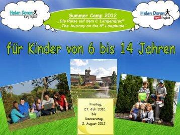 Summer Camp 2012 - Helen Doron Early English