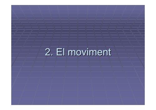 Presentació UD1: moviment i forces