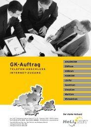 GK-Auftrag - HeLi NET Telekommunikation GmbH & Co. KG